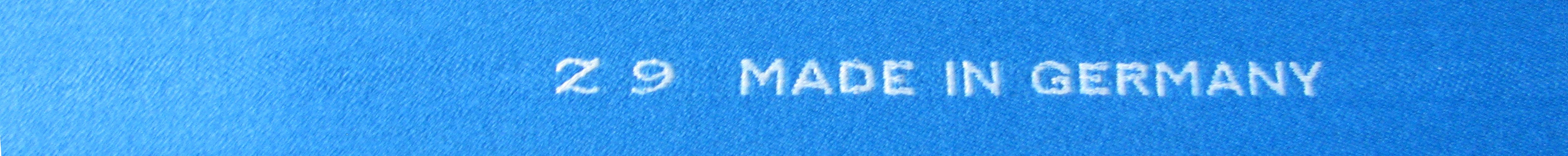 Z9 BilliardCloth Schriftzug Vorderseite